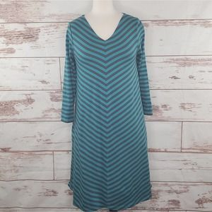 Gudrun Sjoden Striped Dress New but Washed XS